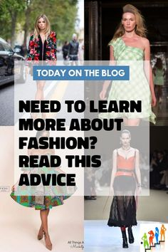 Learn More About Fashion With These Simple Tips Comfortable Fashion, All Things, Cool Style, Change, Fashion Outfits, Learning, Simple, Tips, Style Fashion
