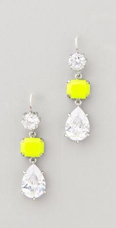 Juicy Couture - Triple Drop Earrings