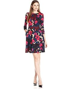 Donna Morgan Donna Morgan Women's Floral-Printed Dress from Amazon | more