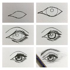 Göz çizimi