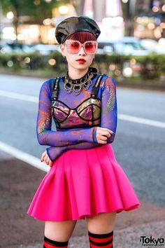Tokyo Fashion Tokyo Fashion, Japan Street Fashion, Harajuku Fashion, Kawaii Fashion, Punk Fashion, Grunge Fashion, Trendy Fashion, Fashion Outfits, Harajuku Girls