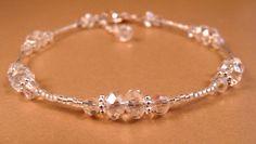 Crystal Ankle Bracelet Crystal Anklet Beaded Anklet Beaded Jewelry Crystal Jewelry by bluerosebeadery on Etsy https://www.etsy.com/listing/98686554/crystal-ankle-bracelet-crystal-anklet