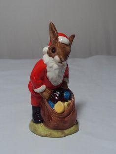 Royal Doulton Bunnykins Happy Christmas DB 17 1981 | eBay