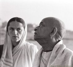 """In order to remember, you must hear and chant."" Yamuna: At the beginning of the Vrindavan project, I was the only woman in the party. All of us had important roles. My role was Deity d…"