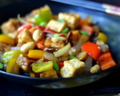 Click pic for 26 Healthy Stir Fry Recipes - Kung Pao Tofu | Easy Chinese Food Recipes | Quick & Easy Dinner Recipes