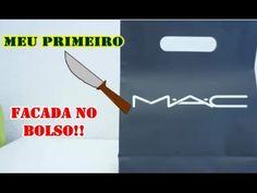 MEU PRIMEIRO M A C, FACADA NO MEU BOLSO!