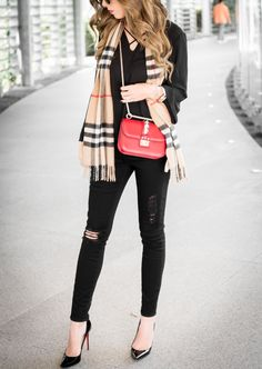 9357d48075 16 Best Styling up a Burberry Scarf images