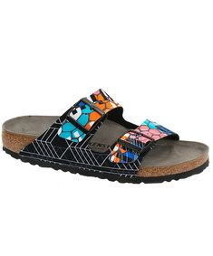 ff7fdcdc51b3 Arizona Sandal by Birkenstock. Textile Sonar Organic Orange Two Strap  Sandal.  birkexpress