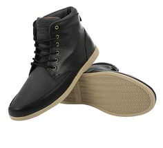 Hamilton Schuh black leather