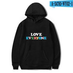 WY02 Bobby Mares, Smile Logo, Hoodies, Sweatshirts, Harajuku, Fall Winter, Pullover, Sweaters, Women