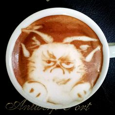 Started your day on the wrong side of the bed? Don't be a grumpy cat, have some delicious OG Coffee to cheer you up today!