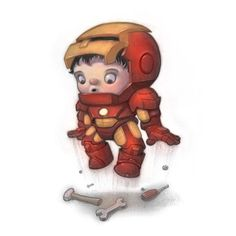 Colored version for CTNx next week! #ironman