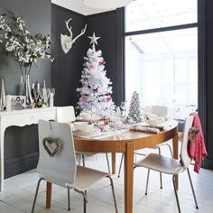 #mesa y #arbol de #Navidad modernos