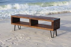TV console TV entertainment center reclaimed by ReclaimedWoodUSA