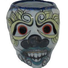 Sugar Skull Mug #6 - Tango Zulu Zulu, Tango, Sugar Skull, Artisan, Sugar Skulls, Craftsman, Zulu Language, Sugar Scull, Candy Skulls