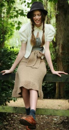 Gaia Skirt Knitting Pattern
