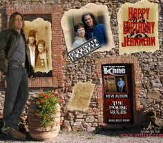 Melissa Estes Hoeck .. Christian Kane fan art ... Please keep her credit and name on her pix when repinning.. Birthday pic for Jeannean Sword in pix.. founder of Christian Kane Vote & Promote Group on facebook..Thanks !