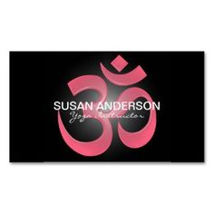 YOGA Instructor Business Card 100 for $24.95