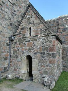 St Columba's Shrine, Iona Abbey, Isle of Iona, Argyll, Scotland Celtic Christianity, Isle Of Iona, Places To Travel, Places To Visit, St Columba, Orkney Islands, Scottish Fashion, Irish Sea, Scottish Castles