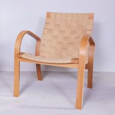 Located using retrostart.com > Arm Chair by Bruno Mathsson for Bruno Mathsson International