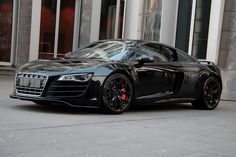 Audi R8 V10 Hyper Black by Anderson Germany  http://audir8forsale.com/audi-r8-tuning/audi-r8-v10-hyper-black-by-anderson-germany