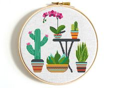 Plant cross stitch pattern Flower cross stitch Cactus cross stitch PDF Modern cross stitch Counted cross stitch Floral cross stitch Natural ● Fabric: Aida 14 count ● Grid Size: 136 x 137 Stitches ● Design Area: x or x cm ● DMC Colors: 13 This is a Cactus Cross Stitch, Cross Stitch Art, Simple Cross Stitch, Cross Stitching, Cross Stitch Embroidery, Flower Patterns, Pattern Flower, Modern Cross Stitch Patterns, Stuffed Animal Patterns