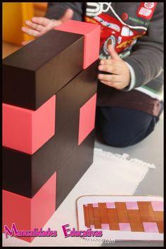 Extensiones para la Torre Rosa Rosa y Escalera Marrón Montessori - Tarjetas para imprimir - Creciendo con Montessori