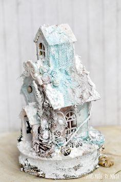 MyArt - Marta: Zimowy domek