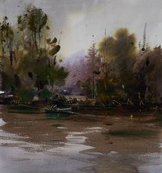 Eugen Chisnicean Artwork - Gray day