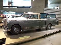 1960 Mercedes-Benz 300D Measuring Wagon - Mercedes-Benz Museum