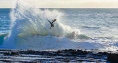 Flying high on the backwash at Snapper Rocks #snapperrocks  #nikonaustralia #nikon by myperspectives_photography