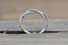 14k White Gold Diamond Pave Rope Twist Curve Stackable Ring Band RR010 – Brilliant Facets Art Deco Diamond, Art Deco Ring, Diamond Jewelry, Cute Promise Rings, Brown Rings, Rope Twist, Band Engagement Ring, Stackable Rings, White Gold Diamonds