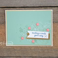Stampin' Dolce: sending smiles your way - GDP038