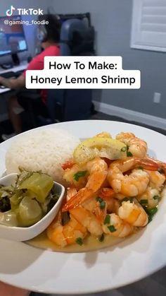 Best Pasta Recipes, Lobster Recipes, Lunch Recipes, Seafood Recipes, Cooking Recipes, Healthy Recipes, Grilled Shrimp Recipes, Food Cravings, Food Hacks