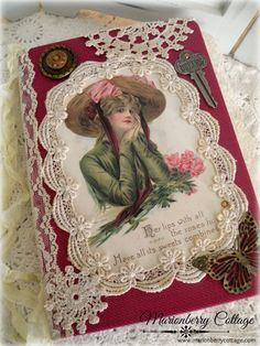 Vintage handmade art and design decor for you and your home Vintage Journals, Handmade Journals, Art Journals, Journal Paper, Junk Journal, Journal Ideas, Victorian Design, Victorian Art, Vintage Clip
