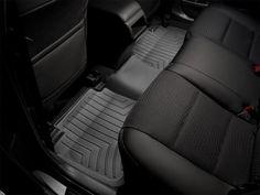 WeatherTech 2012-2014 Mercedes-Benz C63 AMG/ 2008-2014 Mercedes-Benz C350 C300/ 2012-2014 Mercedes-Benz C250 (W204) Rear FloorLiner Mats - Black