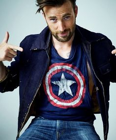 Chris Evans photographed by Peggy Sirota for Rolling Stone Magazine (2016) Steve Captain America