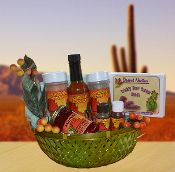 Desert Collection Gift Basket from Elegant Gifts AZ - only $65. Delivery or shipping available. #azgiftbaskets #az-gift-baskets #az-holiday-gift-baskets