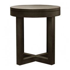 XVL Home Collection Cecilia Side Table - 65 ($905) ❤ liked on Polyvore featuring home, furniture, tables, accent tables, table, contemporary end tables, leg table, top table, modern contemporary furniture and contemporary side tables
