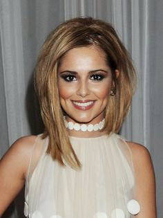 Cheryl Cole: Birthday Celebration in London!: Photo Cheryl Cole poses in a Stella McCartney dress at her birthday party held at The Sanderson Hotel on Friday (July in London, England. Daily Hairstyles, Celebrity Hairstyles, Trendy Hairstyles, Bob Hairstyles, Bob Haircuts, Glamorous Hairstyles, Hairstyles Pictures, Love Hair, Great Hair