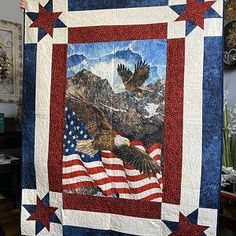 patchwork quilting Quilt Square Patterns, Patchwork Quilt Patterns, Square Quilt, American Flag Blanket, American Quilt, Lap Quilt Size, Quilt Sizes, Stonehenge, Quilt Of Valor