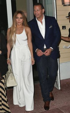 Jennifer Lopez & Alex Rodriguez from The Big Picture: Today's Hot Photos