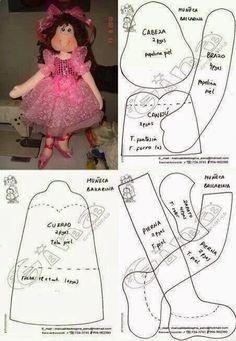 Mimin Dolls: Bailarina linda da net