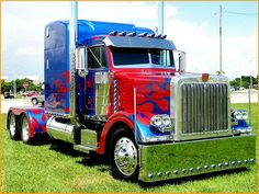 Optimus Prime | Optimus Prime Peterbilt 379 - Truckers Photo (30538901) - Fanpop ...