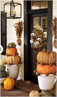 Missing a Southern Fall potterybarn.com...love this decor...but who would see it on my porch in the sticks!