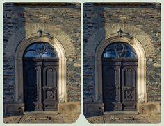 Parish church St. Georg 3D ::: Cross Eye HDR by zour.deviantart.com on @deviantART