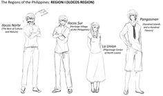 The Regions of the Philippines: REGION I ( ILOCOS REGION )