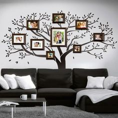 Family tree for wall decoration nice idea Interior Design Living Room, Living Room Decor, Bedroom Decor, Cool House Designs, Wall Design, Diy Home Decor, Decoration, Car Ports, European Countries