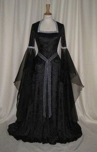 Gothic Custom Made Rennaissance Dress, you'd look amazing in this JC