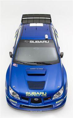 2006 SUBARU IMPREZA WRX STI WRC RALLY CAR
